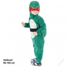 Dětský karnevalový kostým NINJA ŽELVA RAFAELO 92 - 104cm ( 3 - 4 roky )